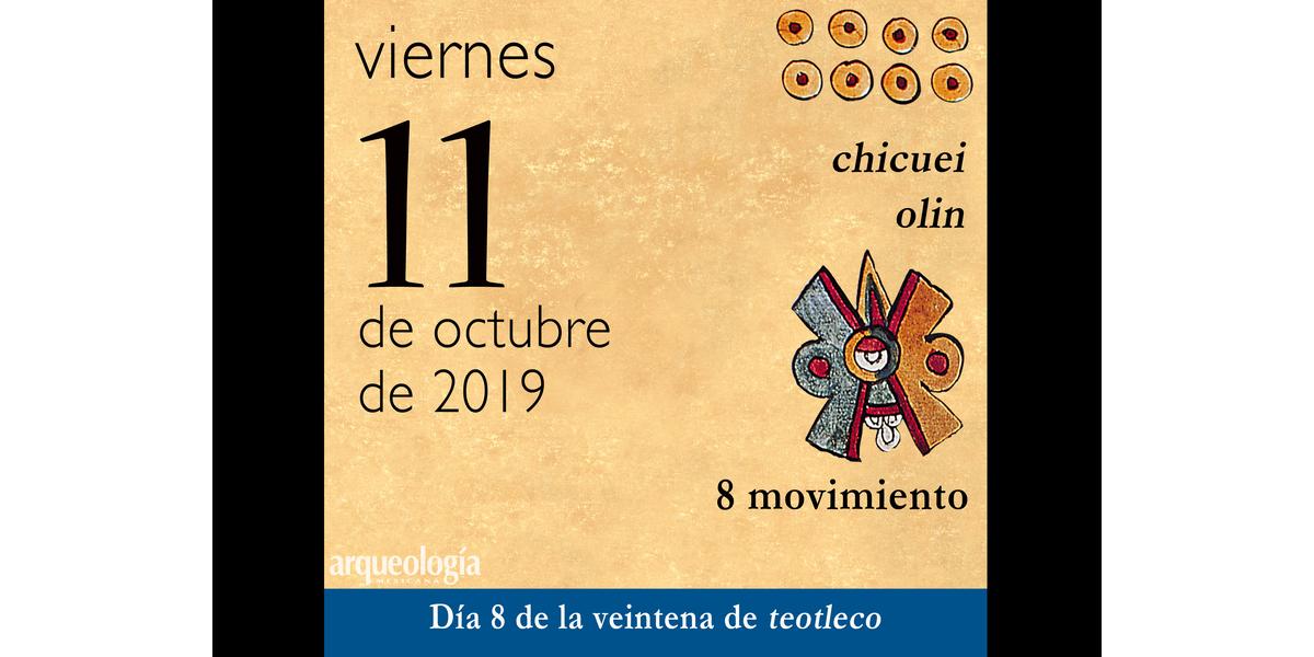 La fecha de hoy y el calendario mexica