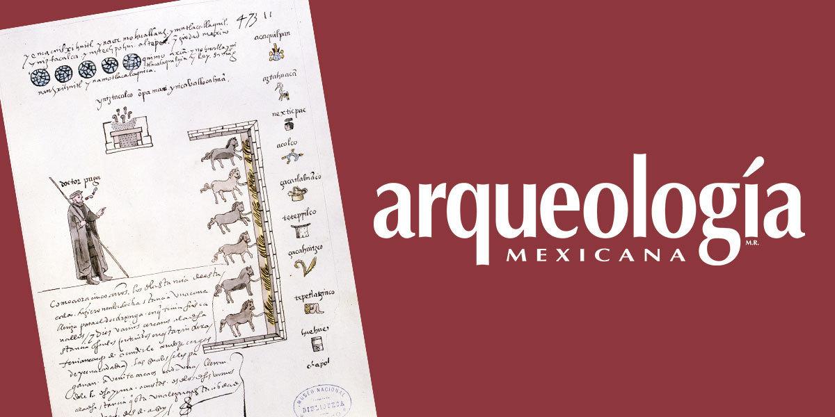 El Tributo En Nueva España Arqueología Mexicana