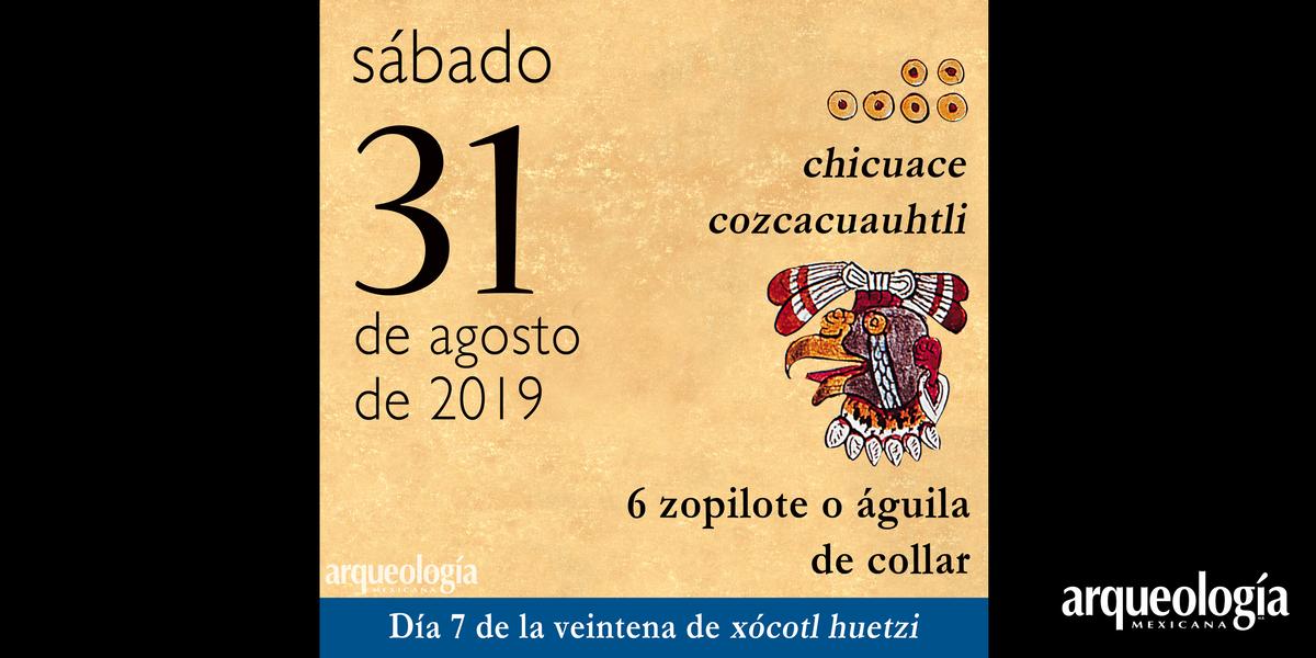 El día de hoy en el tonalpohualli o calendario ritual