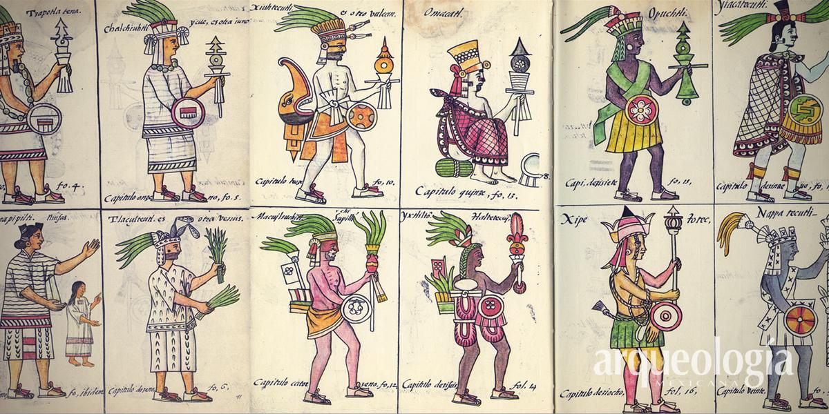 El Códice Florentino. Cronología | Arqueología Mexicana