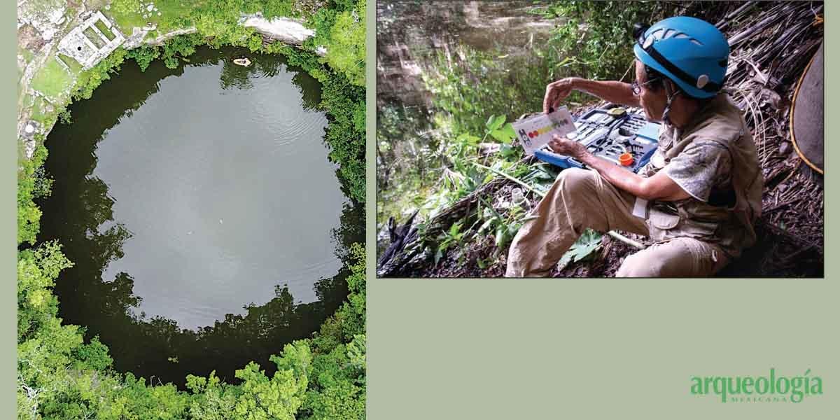 Exploraciones recientes en el Cenote Sagrado