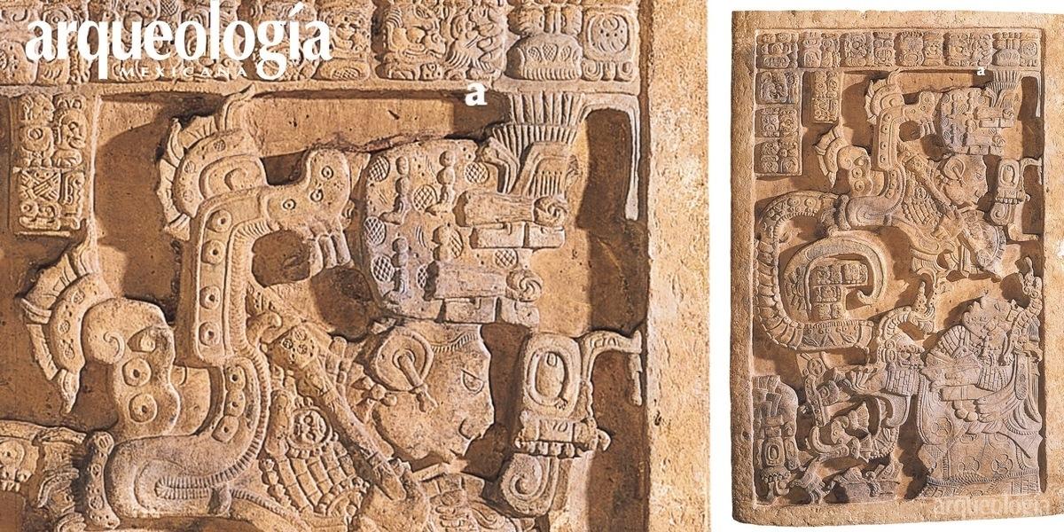 El ofrecimiento de sangre de los señores mayas