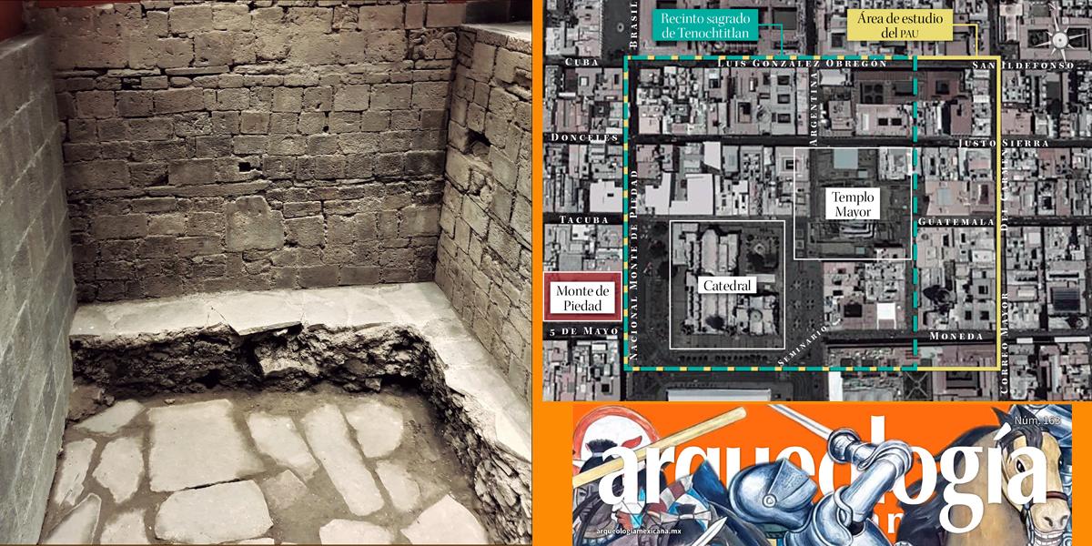 Las casas de Axayácatl, y las de Cortés