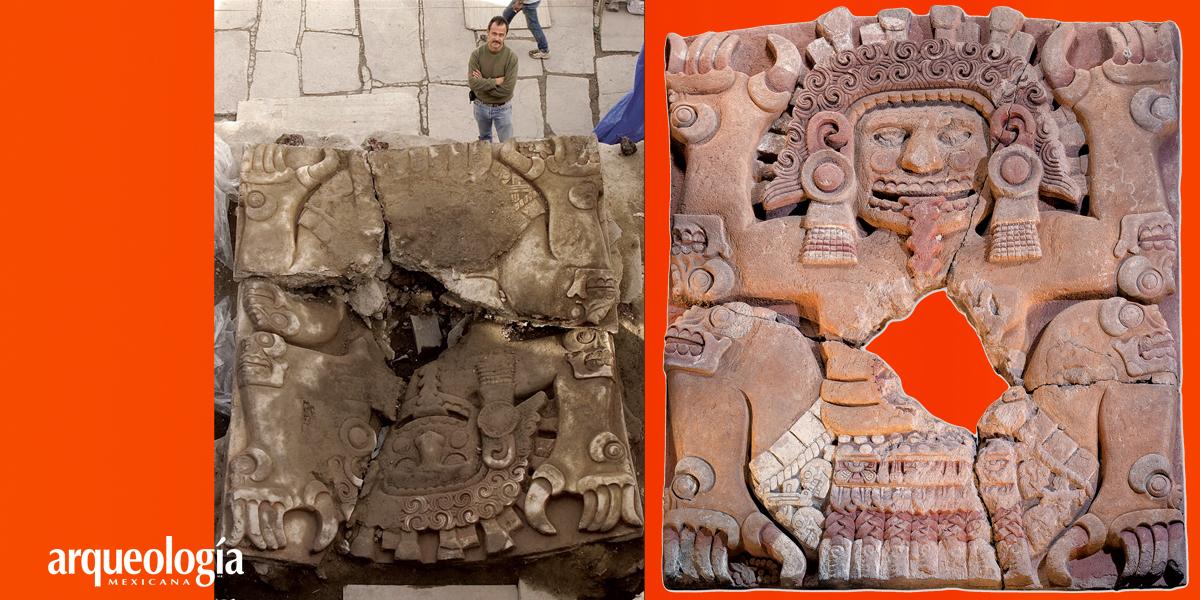 Tlaltecuhtli. Descripción del relieve