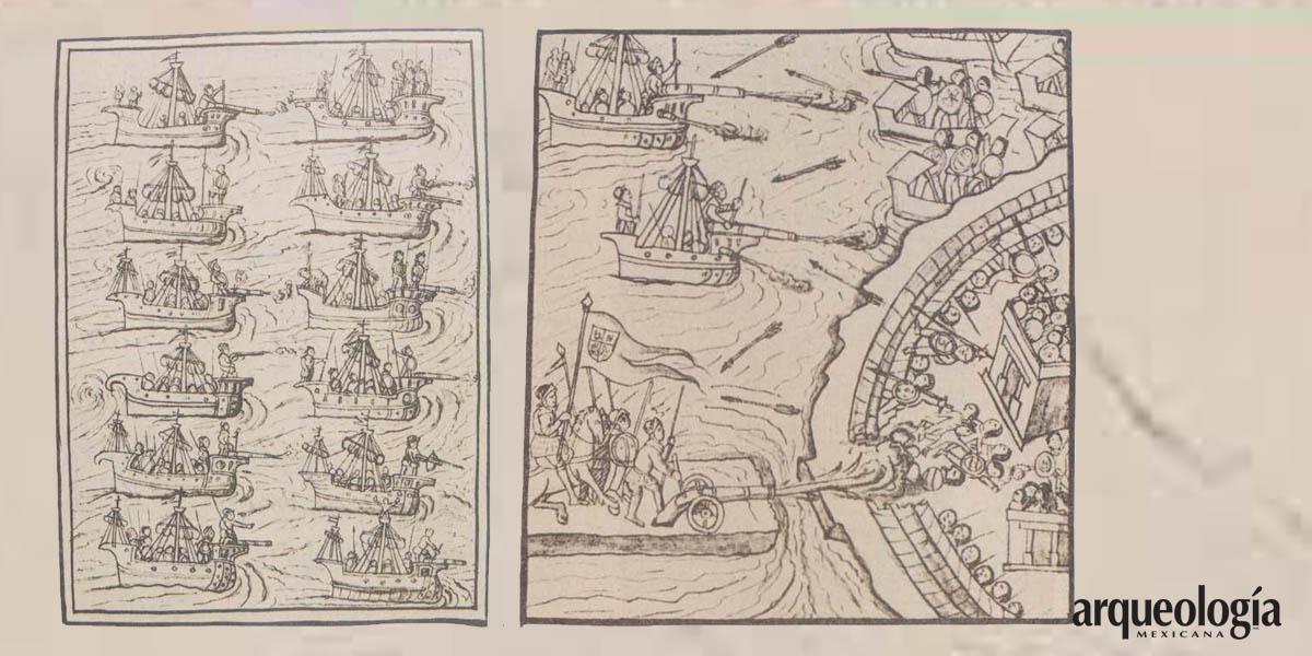 Ataque con bergantines. Marzo de 1521