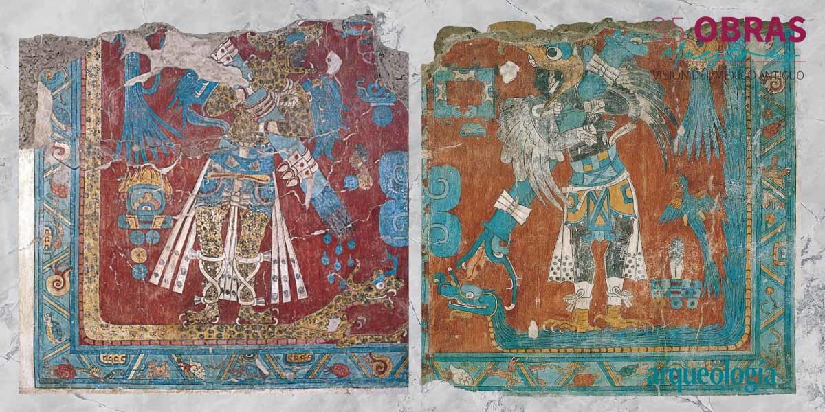 25. Murales del Edificio A. Cacaxtla, Tlaxcala