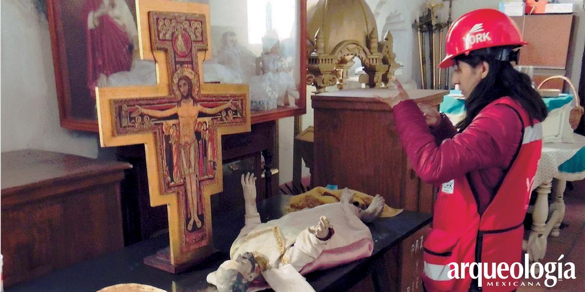 Atención al Patrimonio Cultural afectado por sismos de 2017