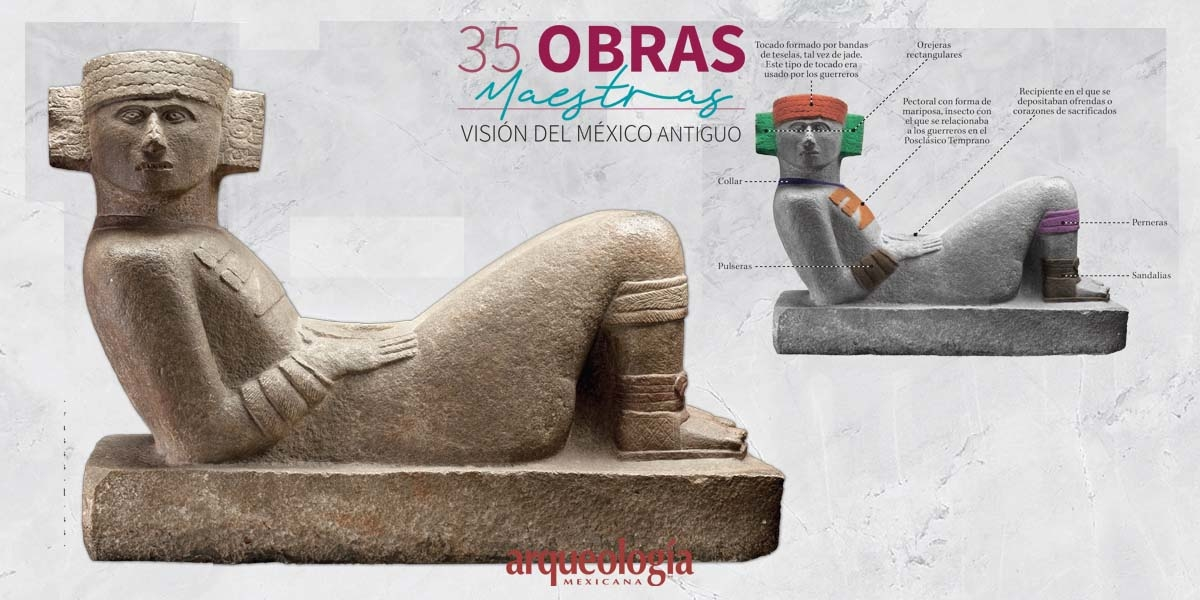 10. Chacmool. Chichén Itzá, Yucatán