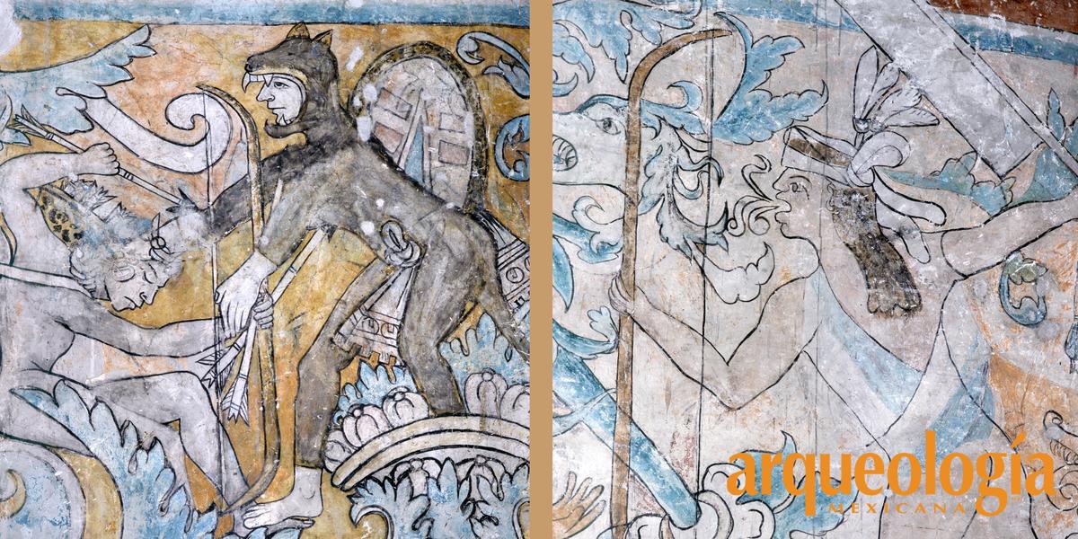 El venerado padre Sol en la Parroquia de Ixmiquilpan