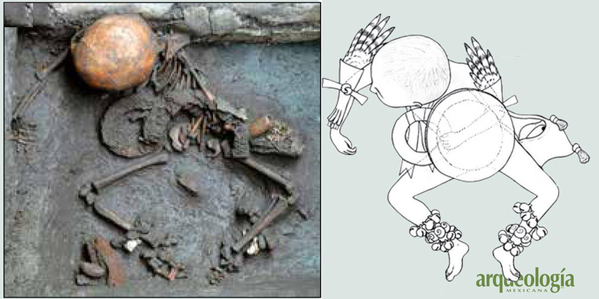 Un ixiptla de Huitzilopochtli