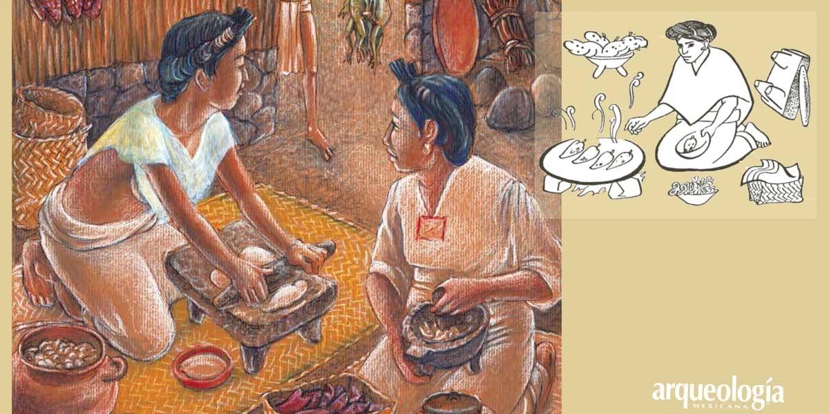 La cocina mexica y sus instrumentos