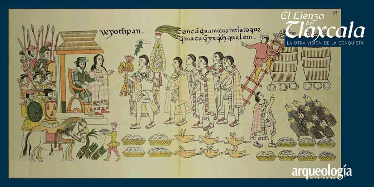 Tlaxcaltecas, aliados de la corona española