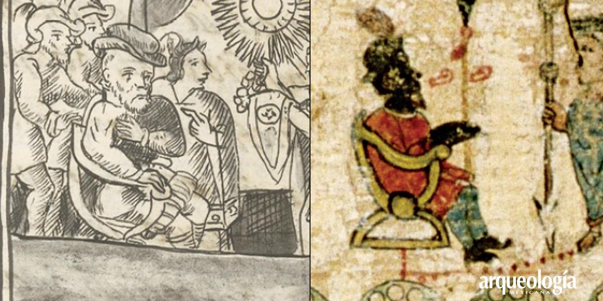 Hernán Cortes, ixiptlah de una deidad