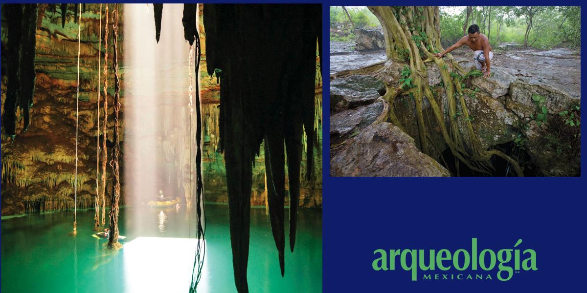 La belleza del Cenote Holtún