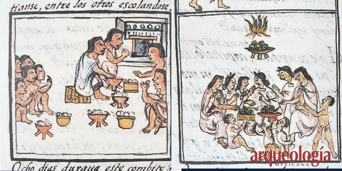 De las comidas que usaban los señores