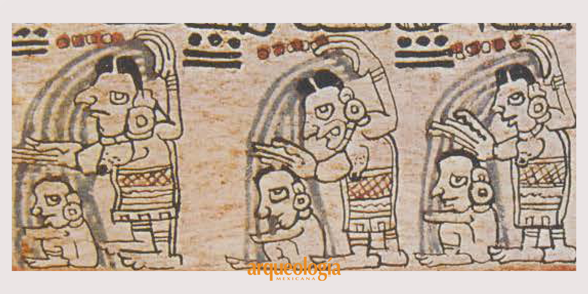 Rito maya de purificación con agua