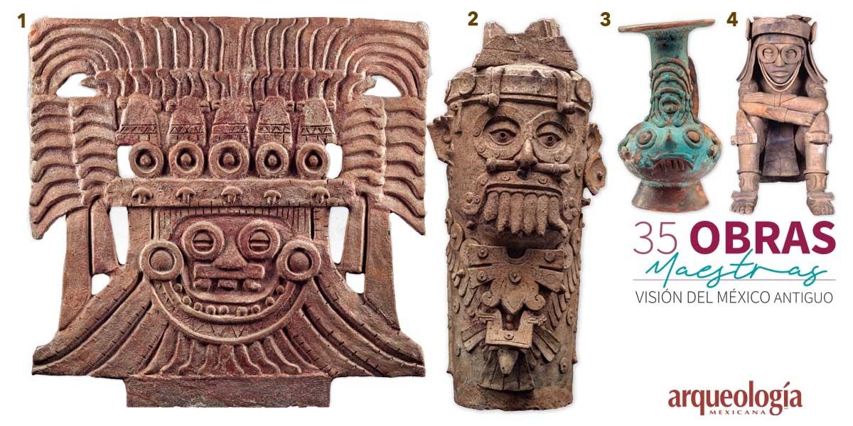 13. Dios de la lluvia. Teotihuacan, Estado de México