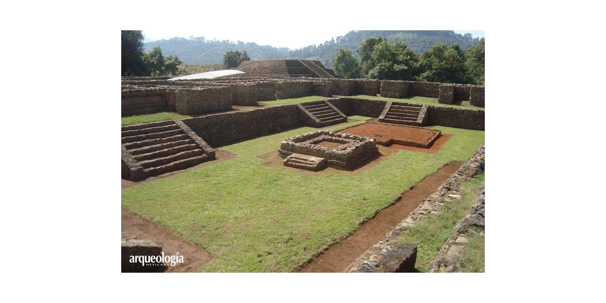 "Tingambato, ""Cerro de clima templado"""