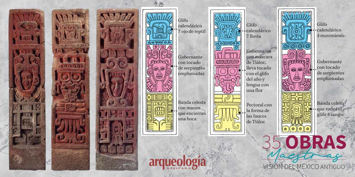 26. Estelas de Xochicalco. Morelos