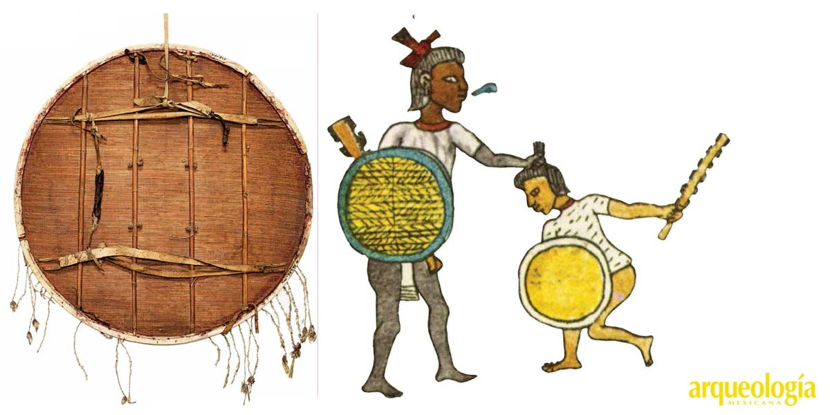 Los escudos mexicas de estera