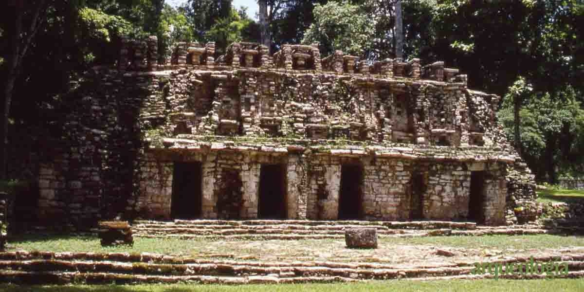 Dos reyes mayas de Yaxchilán