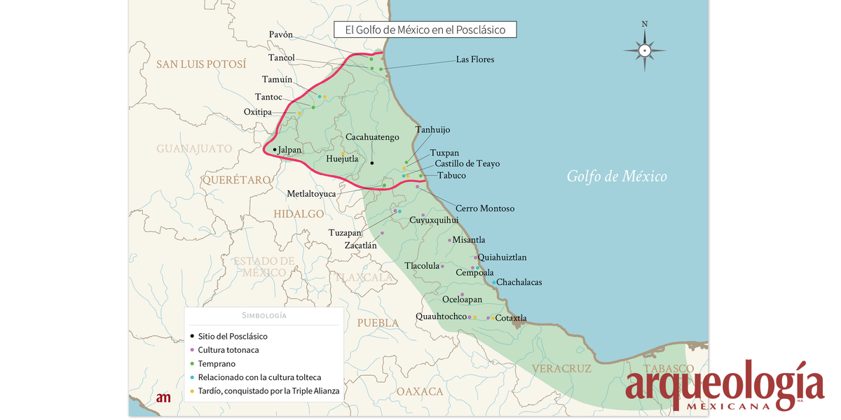 El Golfo de México a la llegada de los españoles