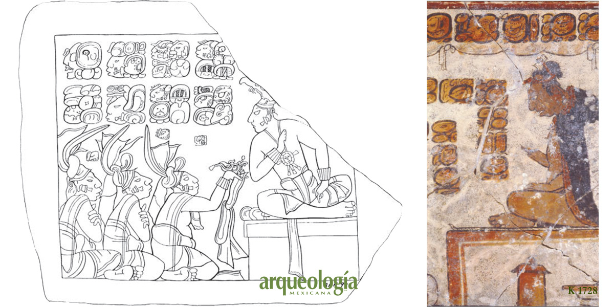 Los reyes mayas o ajawo'ob