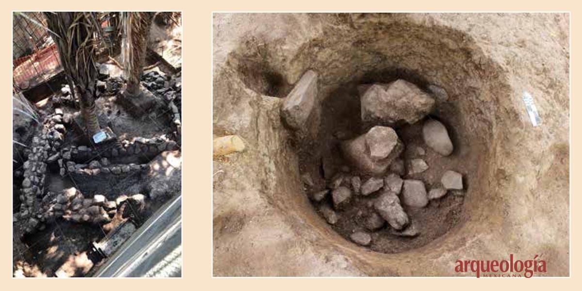 Arqueología en La Mandarina, Nayarit