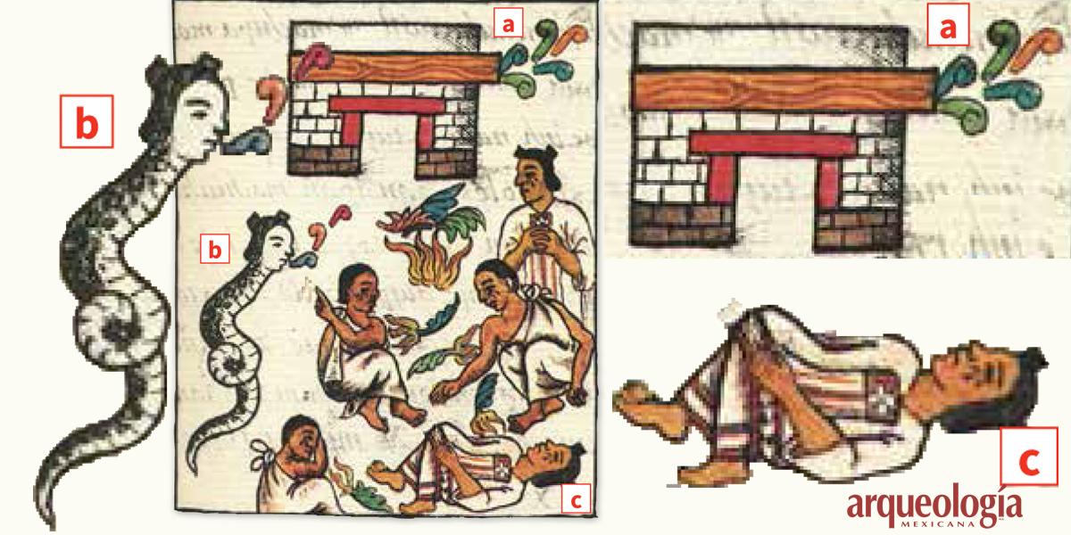 Presagio de la caída de Tenochtitlan