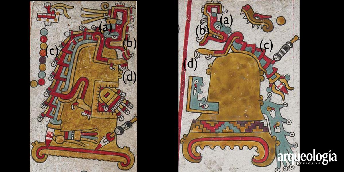 La serpiente de fuego en la iconografía mesoamericana