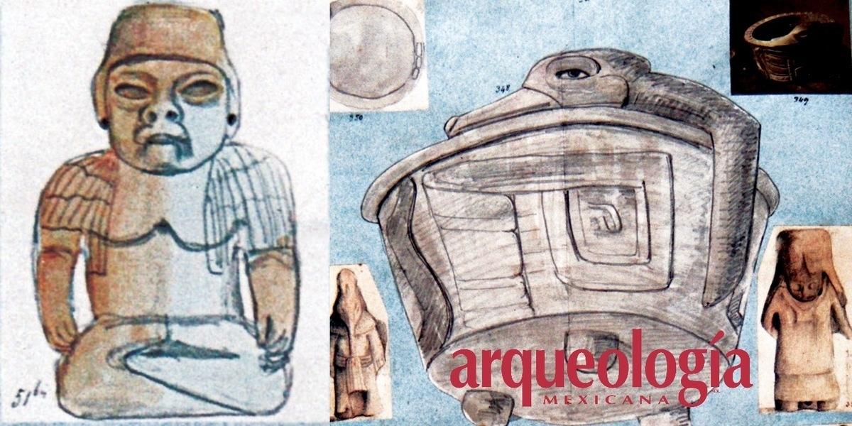 Historia de dos piezas de estilo olmeca en Europa