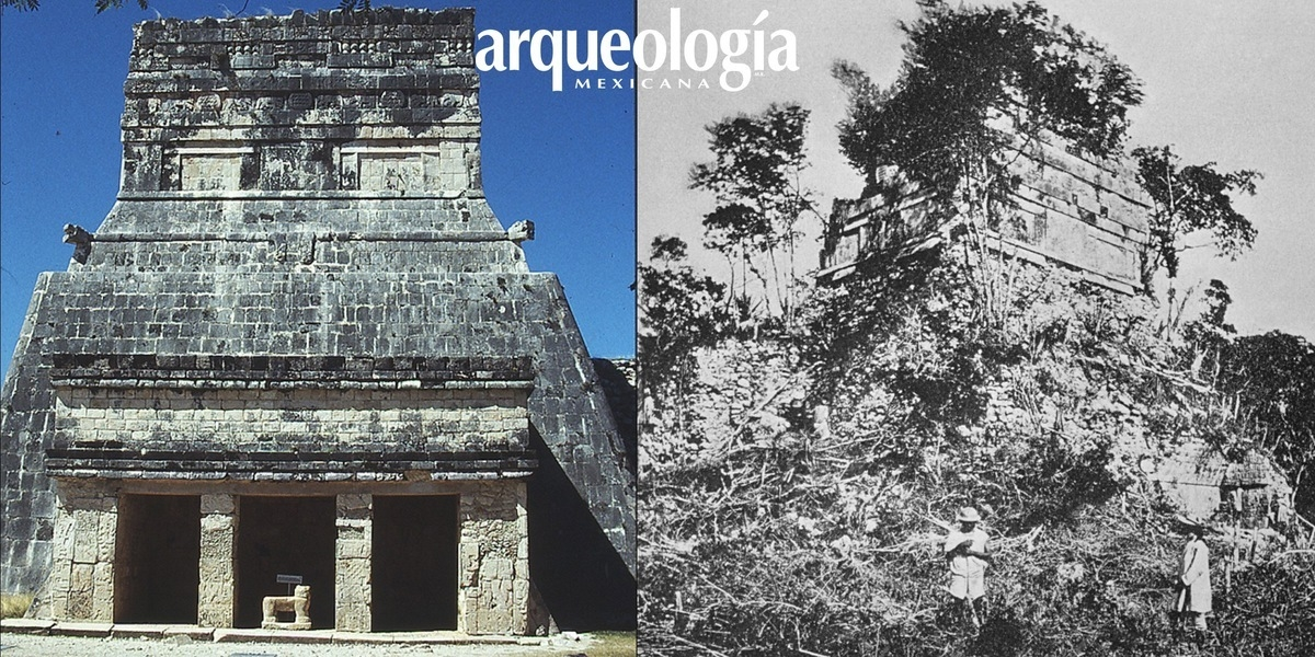 Templo de los Jaguares, Chichén Itzá, Yucatán