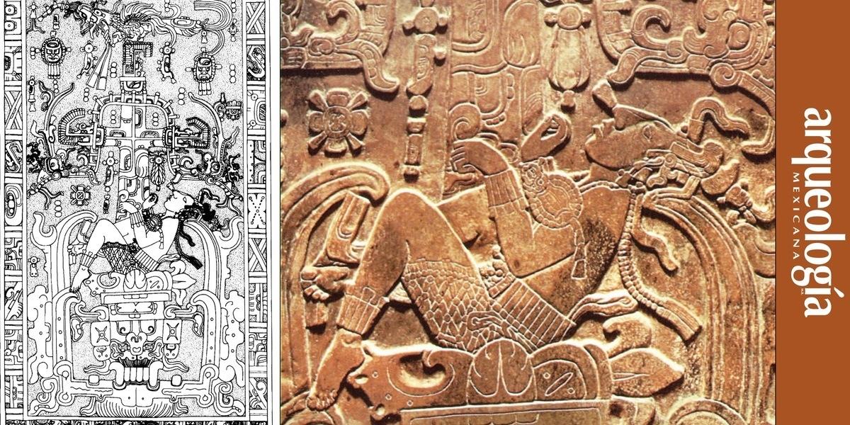 Lápida de Pakal, Palenque, Chiapas