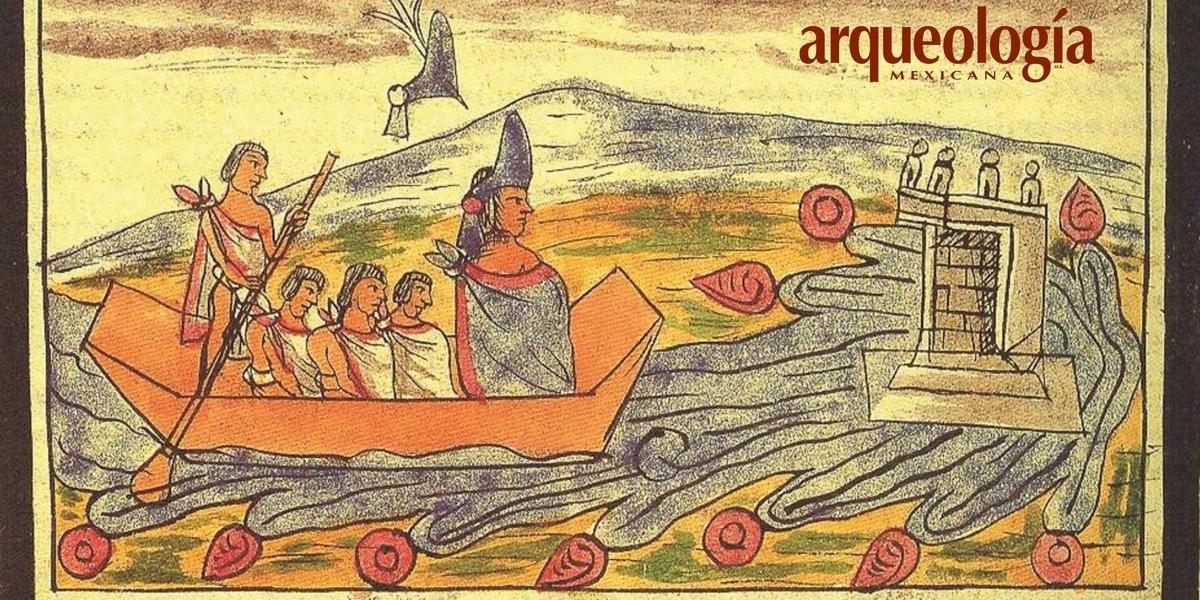 La Huida De Moctezuma Ii Arqueología Mexicana