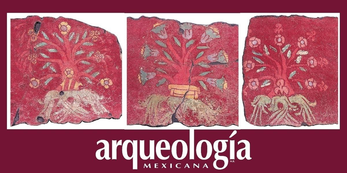Flores en la pintura mural prehispánica