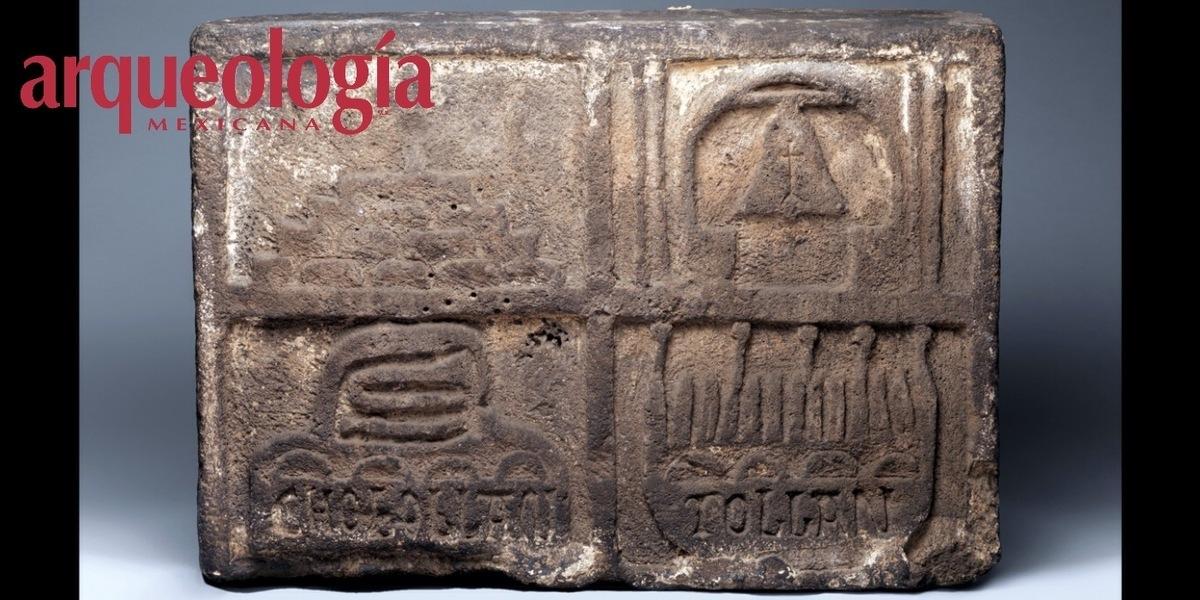¿La primera lápida heráldica de Tollan Cholollan Tlachihualtépetl?