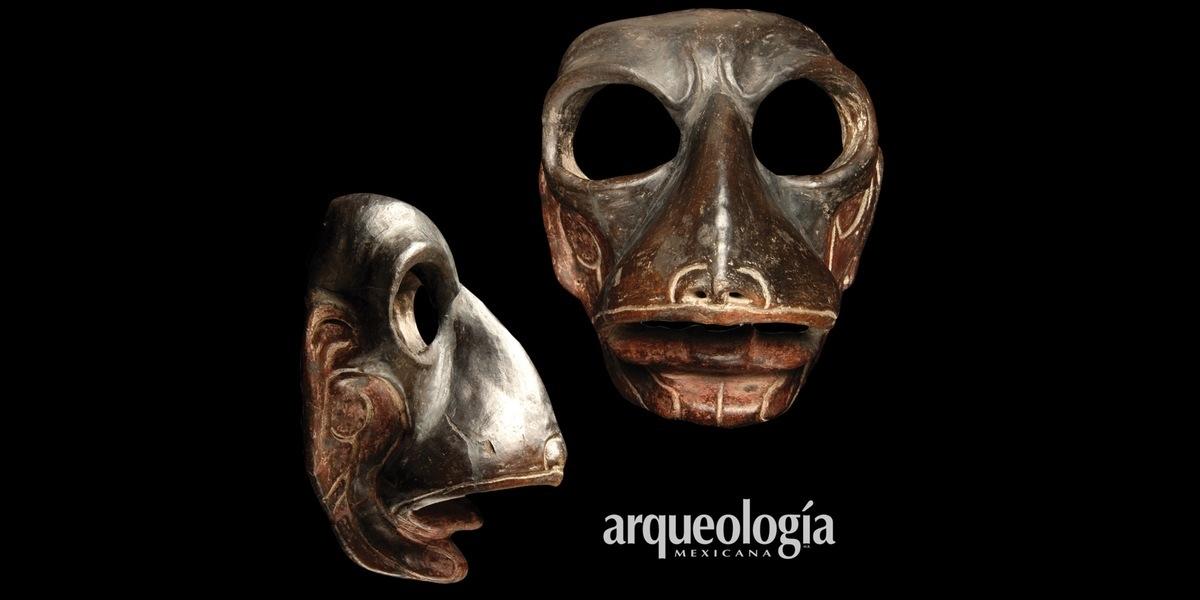 Máscara de animal fantástico, Tlatilco, Estado de México