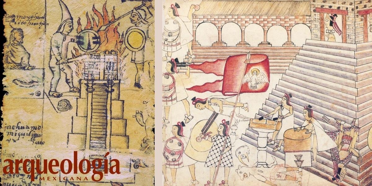 Destrucción Del Templo Mayor De Tenochtitlan Arqueología Mexicana
