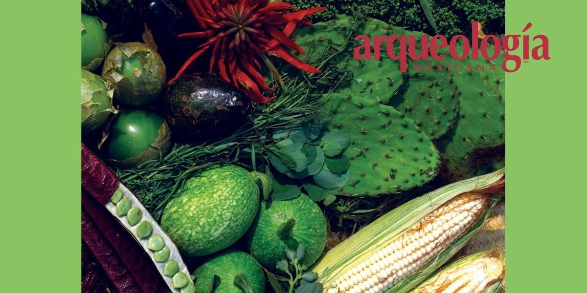 Alimentos originarios de o domesticados en México en tiempos prehispánicos