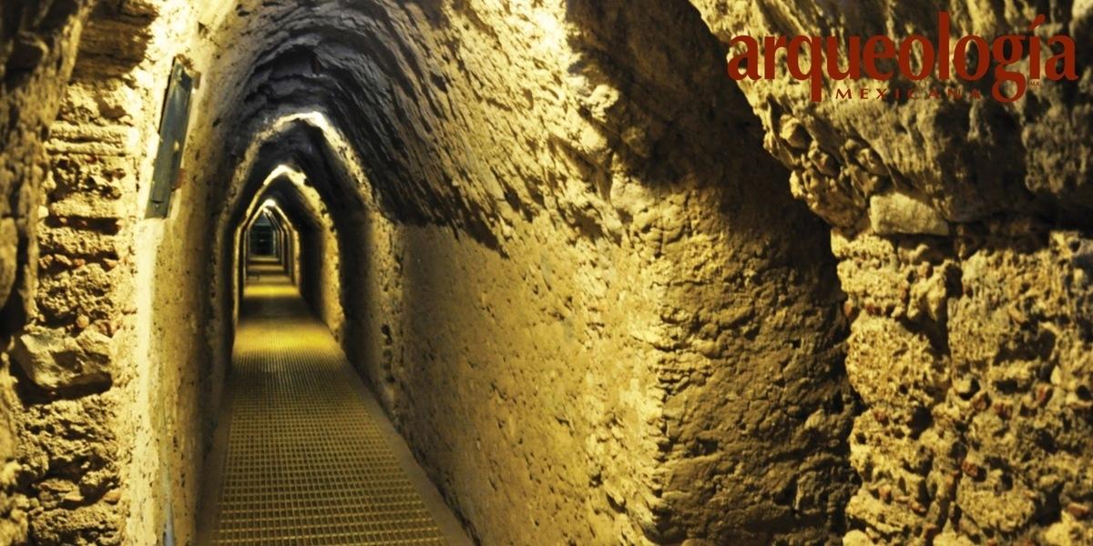 Los túneles de la Gran Pirámide de Cholula, Puebla