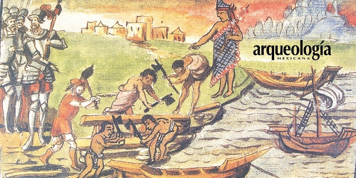 Conquistas lacustres. Tenochtitlan (1519-1521), Tayasal (1525-1696)