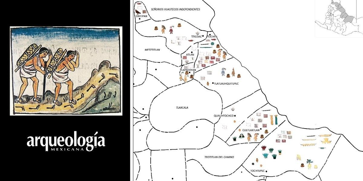 Las rutas de intercambio comercial contribuyeron al mestizaje de Mesoamérica