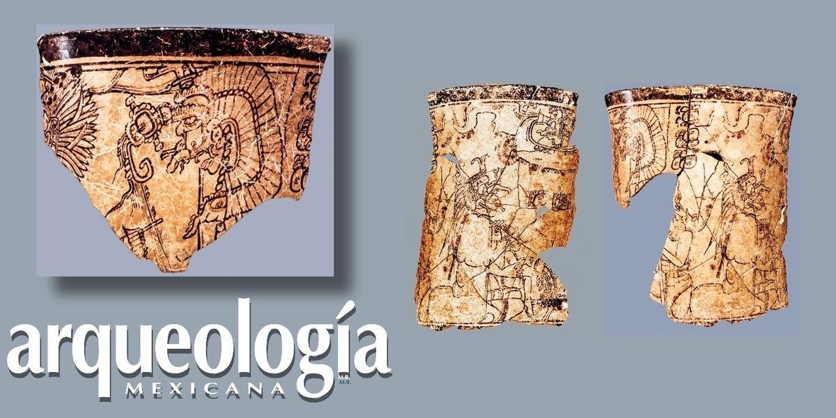 Vasijas estilo códice de Calakmul. Narraciones mitológicas y contextos arqueológicos