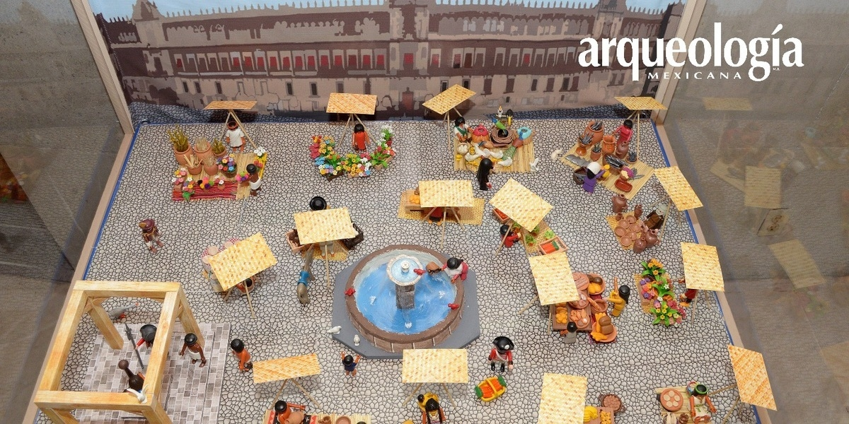 Recrean pasajes de la historia de México con juguetes armables