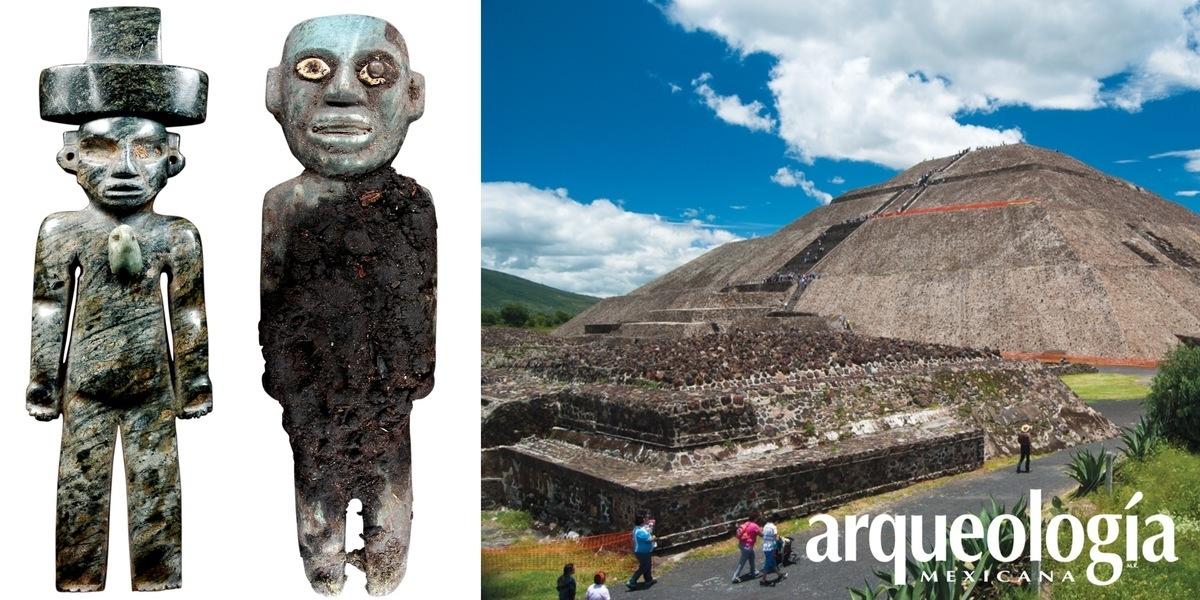 El interior de la Pirámide del Sol en Teotihuacan