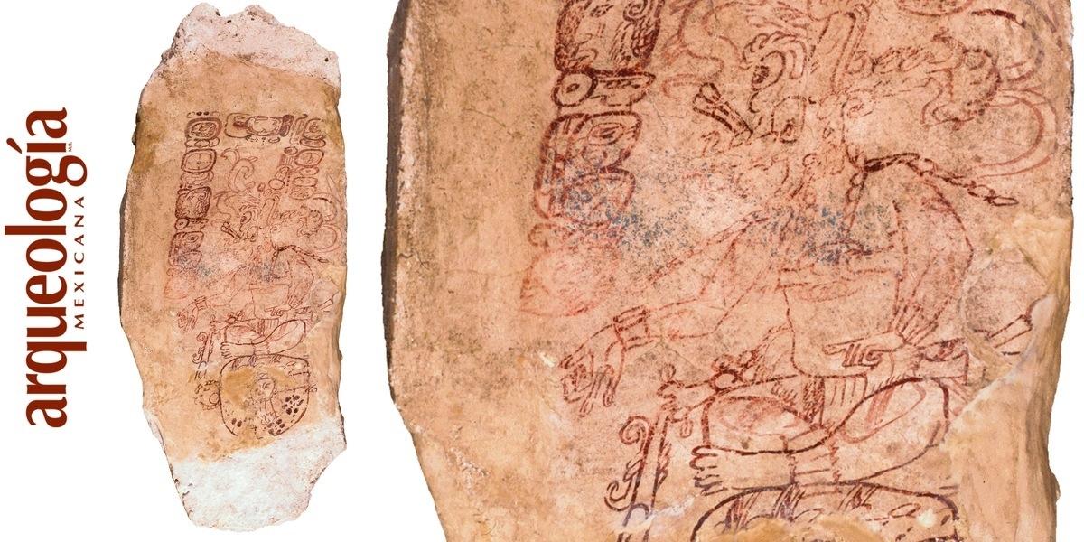 Las tapas de bóveda pintadas en el área maya