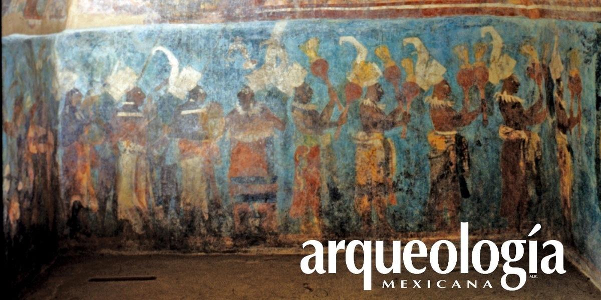 Los pigmentos mayas