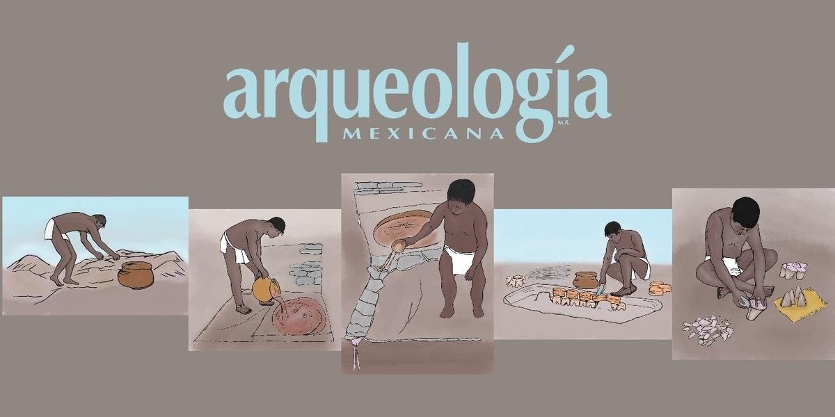 La producción de panes de sal en el sur de Puebla