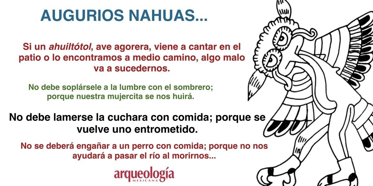 Augurios nahuas de Zongolica, Veracruz
