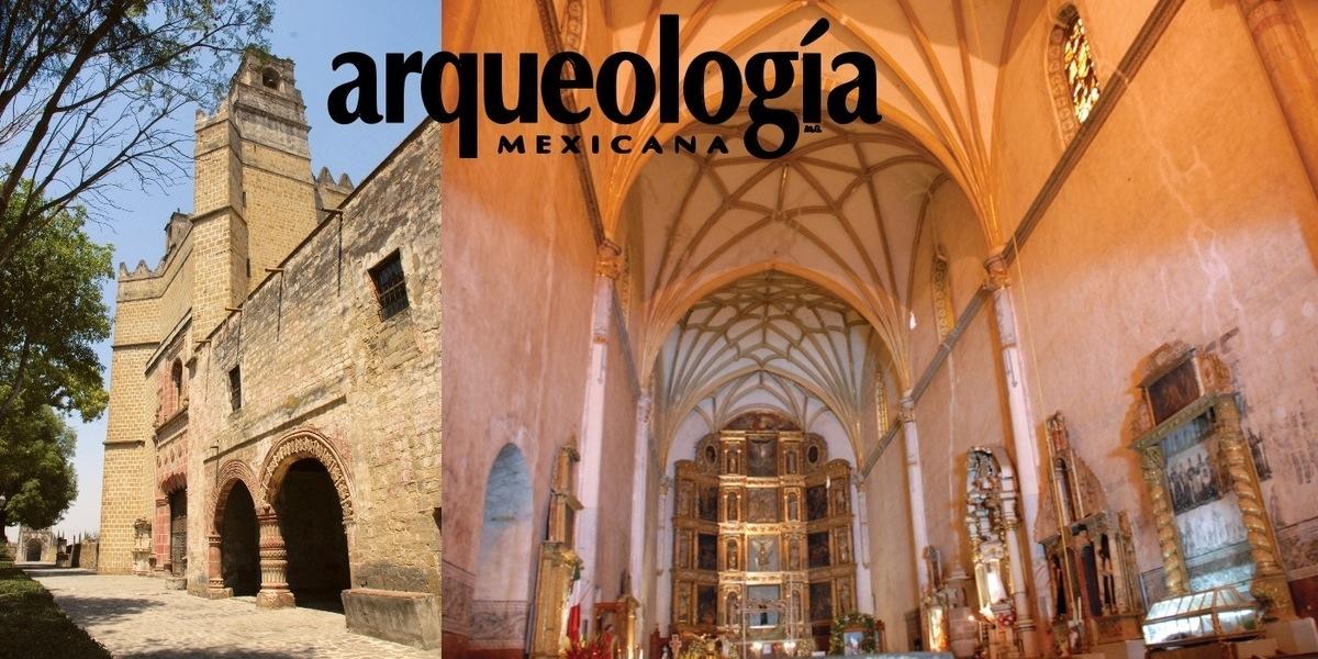 La construcción del convento de San Miguel de Huejotzingo, Puebla